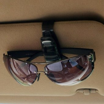 Best Sunglasses Clip Holder Mobil Car Gantungan Kacamata Auto Klip Glasses