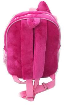 BGC My Little Pony Pinkie Pie Tas Ransel Anak Sekolah TK Boneka Timbul Import + Kotak Pensil + Alat Tulis - Pink - 5
