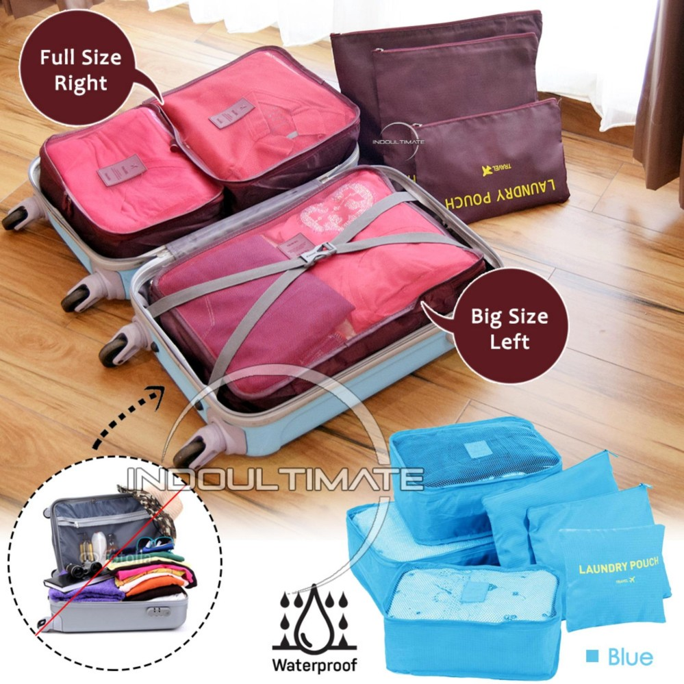 BIG SIZE WATERPROOF Travel Bag 6in1 Organizer IM OR 60-01/Organizer Space Koper