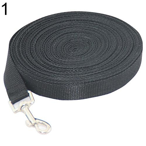 Bluelans(R) Pet Training Leash Rope Belt Dog Safety Harness for Small And Medium Size 15 m (Black) - intl