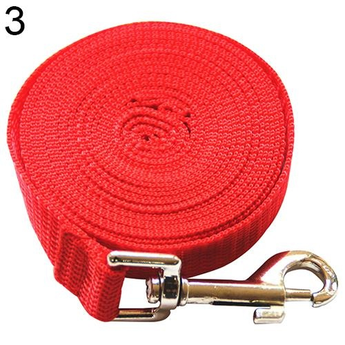 Bluelans(R) Pet Training Leash Rope Belt Dog Safety Harness for Small And Medium Size 20 m (Red) - intl