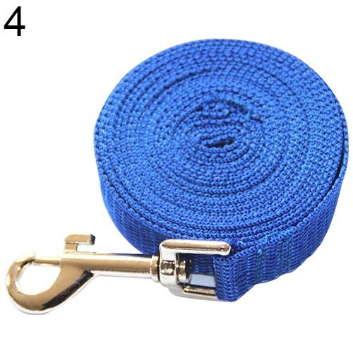 Bluelans(R) Pet Training Leash Rope Belt Dog Safety Harness for Small And Medium Size 3 m (Blue) - intl