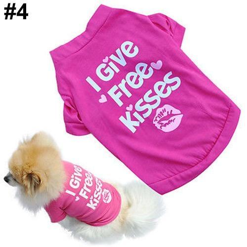 Bluelans(R) Unisex Puppy Dog Cat Cotton Hoodie T-Shirt Vest Spring Autumn Clothes Apparel L (#4) - intl