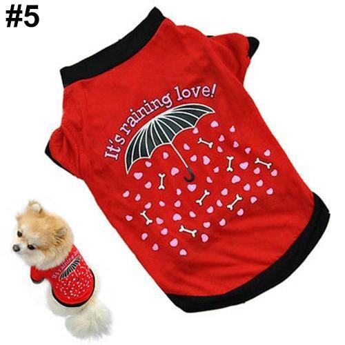 Bluelans(R) Unisex Puppy Dog Cat Cotton Hoodie T-Shirt Vest Spring Autumn Clothes Apparel M (#5) - intl