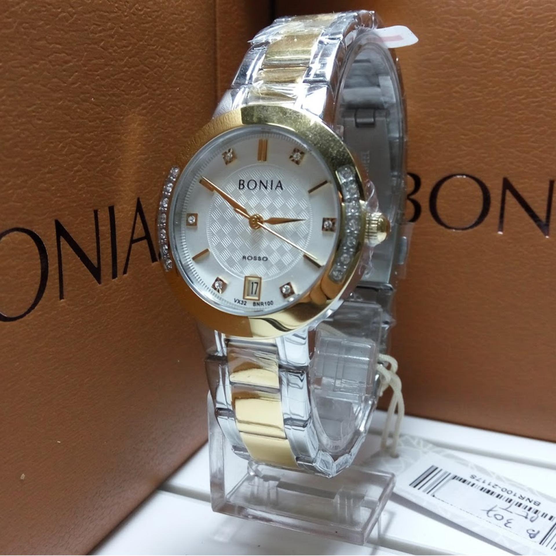 Bonia Bn100 Jam Tangan Wanita Cek Harga Terkini Dan Terlengkap Silver Rose Gold Bn10194 2615s Bnr100 2117s Stainless Steel