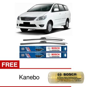 Bosch Sepasang Wiper Mobil Toyota Kijang Innova Frameless New ClearAdvantage 24