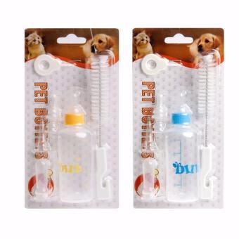 Perbandingan harga Botol Susu Dot Susu Kucing dan Anjing Puppy Kitten Milk NursingBottle 60ml Penawaran Bagus