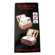 Brasel Travel Vacuum Bag (Kantong Plastik Baju Kedap Udara) - 4pcs