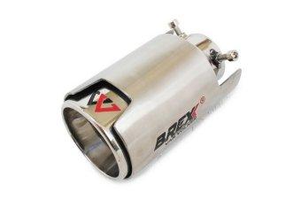 Brexx Masterpiece Tailpipe Omega 3.5 inch - MC SO-09 - Silver