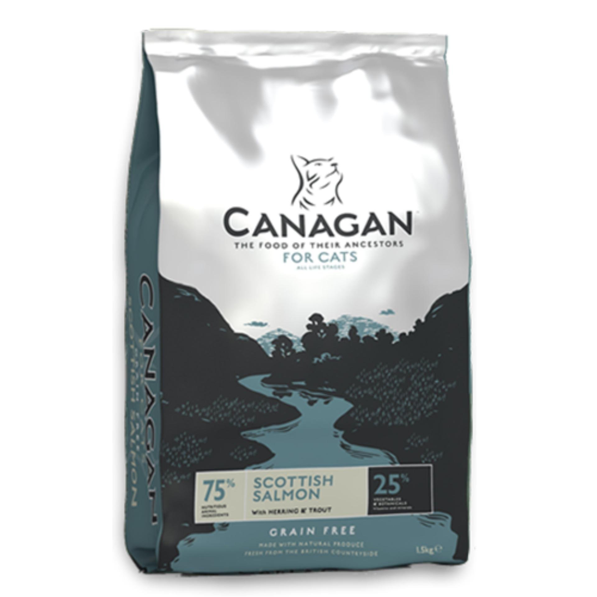 Canagan Cat Scottish Salmon Grain Free 4Kg