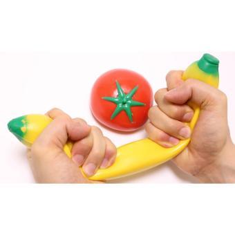 Cannies Squishy Jumbo Banana Strechy (squishy keras dan melar)