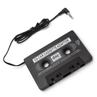 Car Cassette Casette Tape 3.5mm AUX Audio Adapter MP3 /MP4 PlayerCD For iPhone - intl - 5