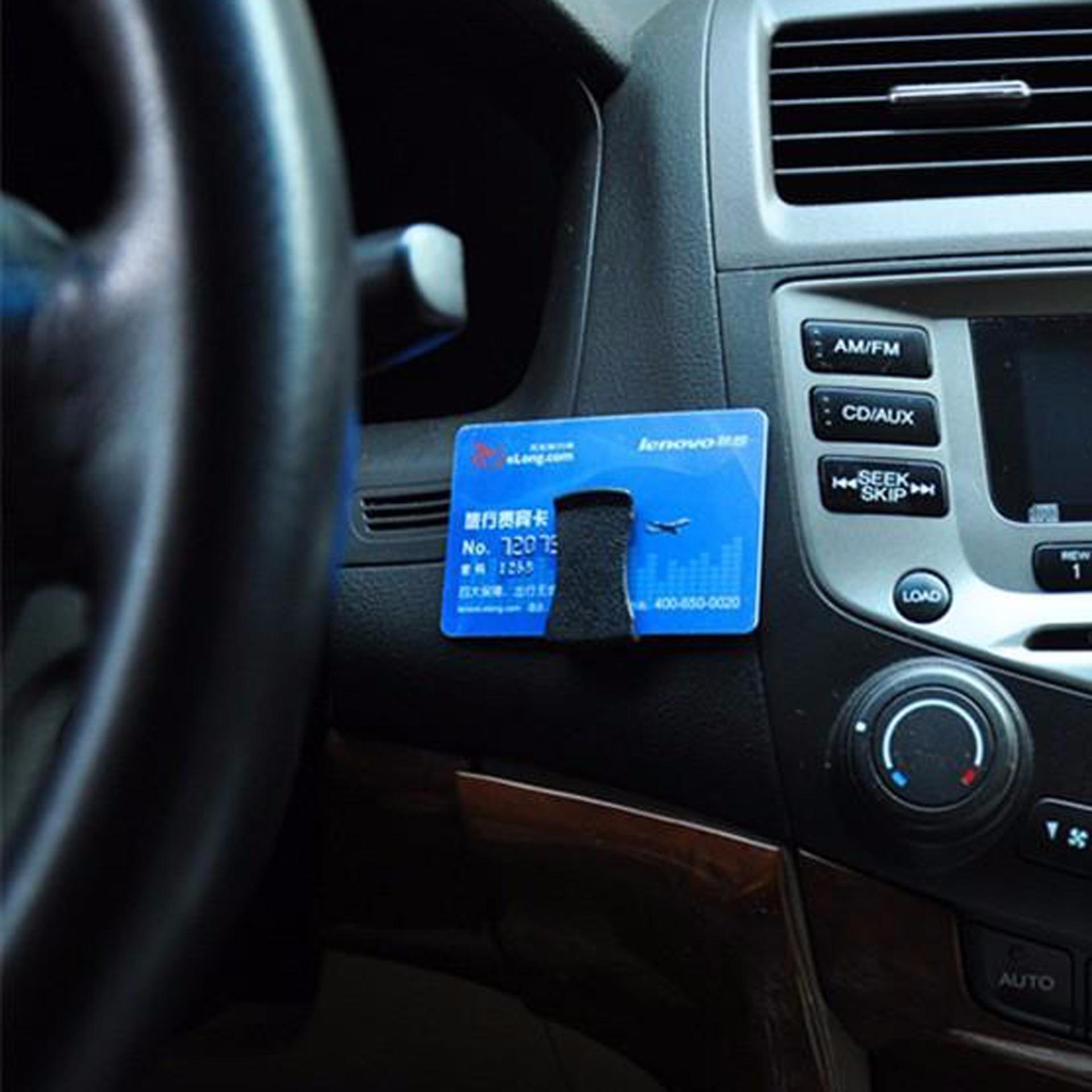 Car Holder Clip Card - Penjepit Kartu Mobil .