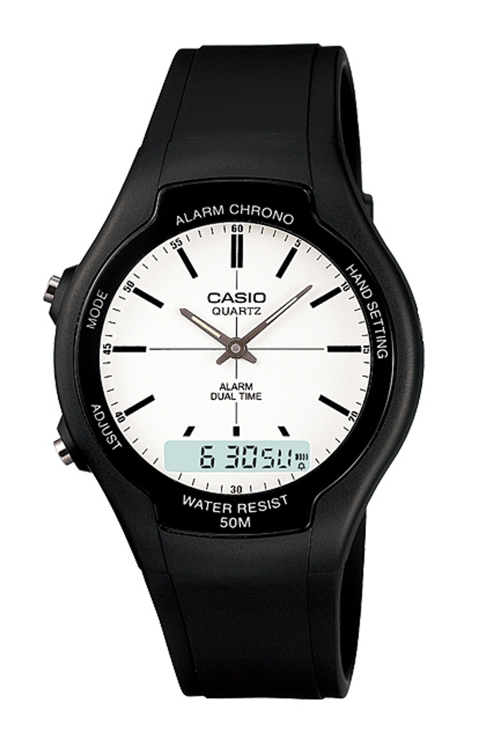 ... Tali Source · Casio Analog Digital Watch AW 90H 7EVDF Jam Tangan Unisex Karet