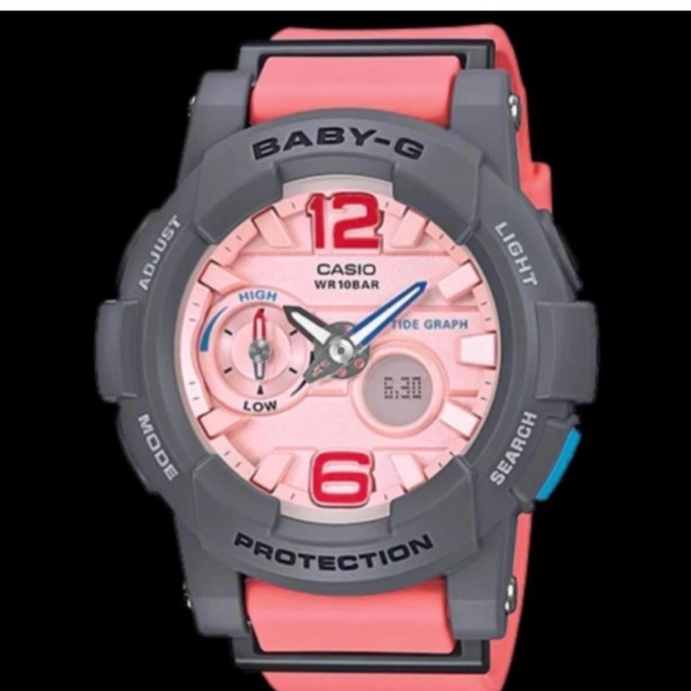 Casio Baby-G G-LIDE Series Women's Watch Pink Band Resin .