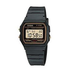 Casio Digital Watch Jam Tangan Unisex - Hitam - Resin Strap - F-91W-9QDF