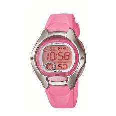 Casio Digital Watch LW-200-4BVDF - Jam Tangan Wanita - Resin - Pink