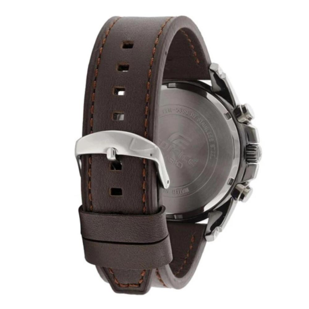 Casio Edifice Efr 538l 5av Jam Tangan Pria Brown Beli Harga Murah 522d 1avdf Stainless Steel Black