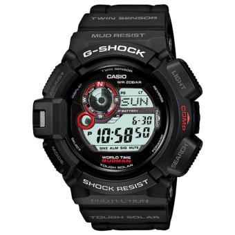 Casio G-SHOCK G-9300-1DR - Jam Tangan Pria - Digital - Black