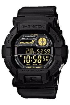 Casio G-Shock GD-350-1B Black - intl
