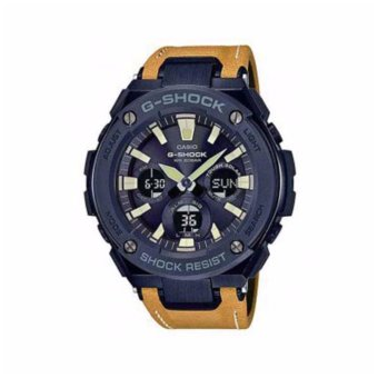 Casio G-Shock GST-S120L-1B Water Resistant Watch For Men Black - intl