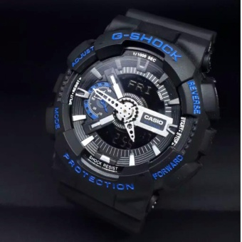 Casio G-Shock Jam Tangan Pria Dualtime Analog Digital GA110 - Black List  Blue b4e5425653
