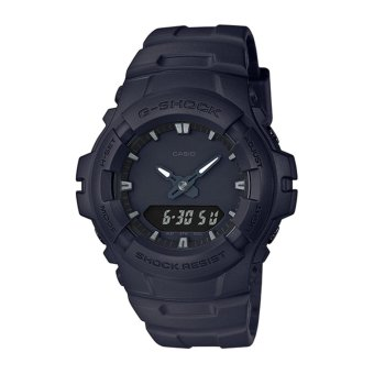 Casio G-Shock Men's Black Resin Strap Watch G-100BB-1A - intl