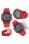 Casio Jam Tangan Pria AE-1000W-4AVDF - Merah - Karet