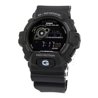 Casio Watch G-SHOCK Tough Solar Black Resin Case Resin Strap Mens NWT + Warranty GR-8900A-1E