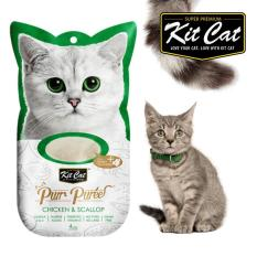 Cat Liquid - Kit Cat Pur Puree Chicken & Scallop