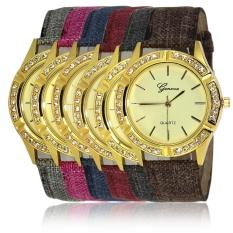 Cepat Menjual Melalui Ledakan Hot Fashion Penuh Pasir Quicksand Wanita Watch Women's Watch Spot Geneva Wanita Watchgray-Intl