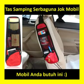 Chair Side Pocket Car Tas Samping Sisi Organizer Serbaguna Jok Mobil