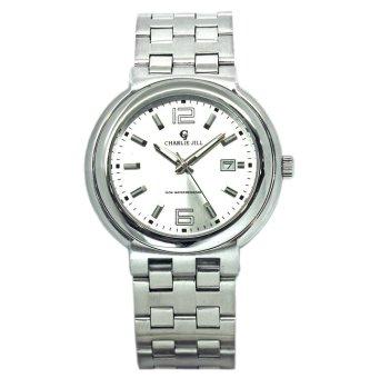 jam tangan pria strap stainless - hitam (CH022OTAAFAL0XANID-33890459).