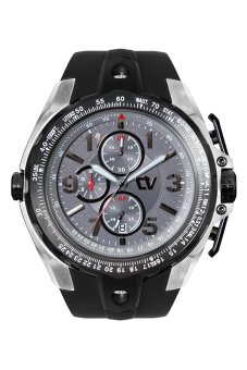 Christ Verra Sport Chronograph Gents Watch - CV C 92181G-30 - Grey Black