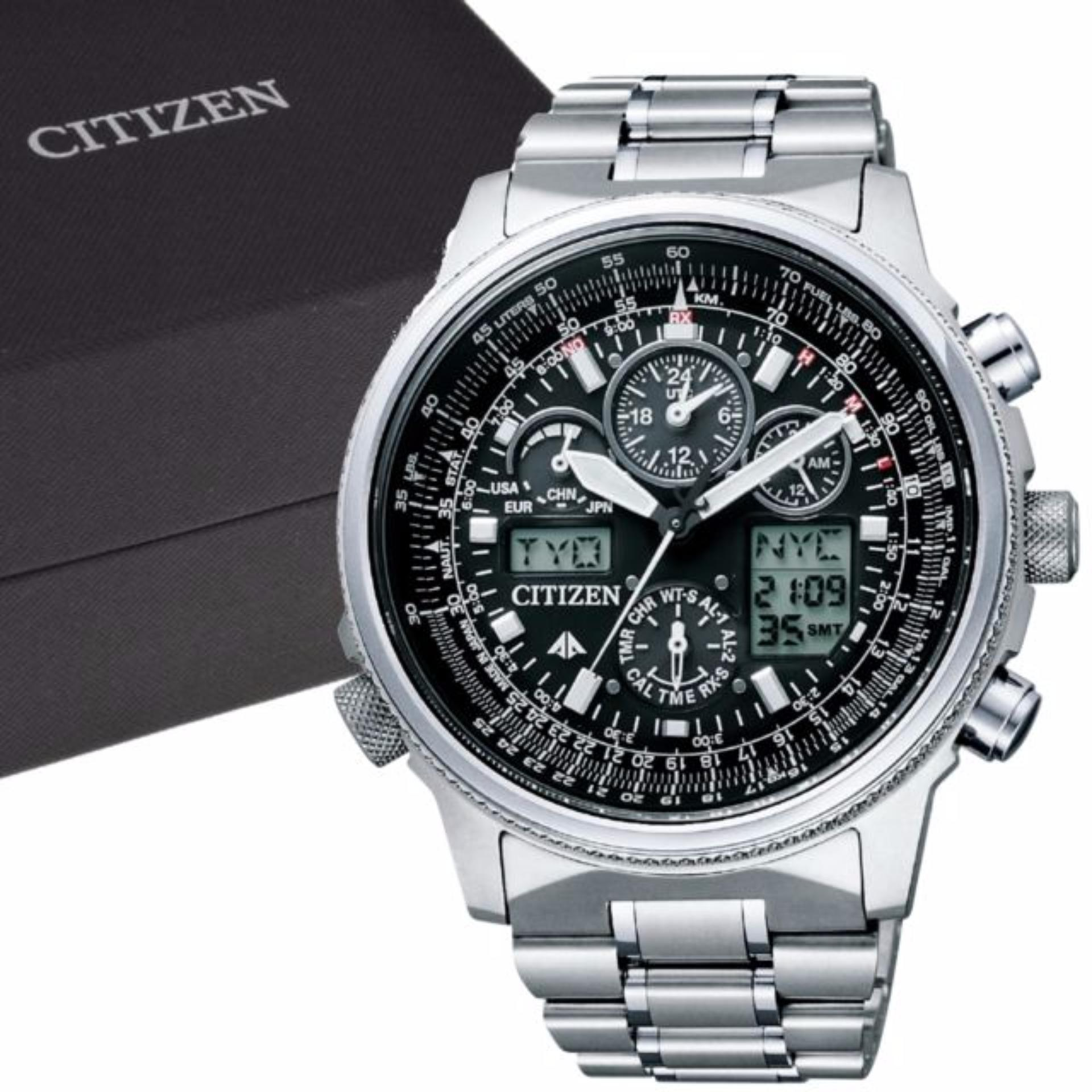 CITIZEN PMV65-2271 Promaster - Eco-Drive - Analog And Digital .