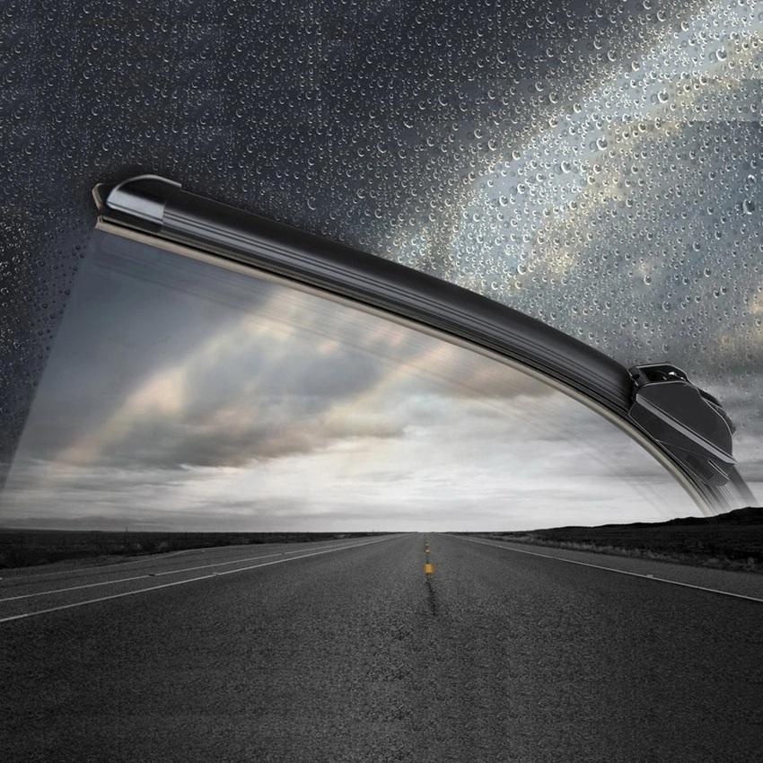 CJ Wiper Mobil Frameless 1 Set Kaca Depan - Daihatsu Xenia .