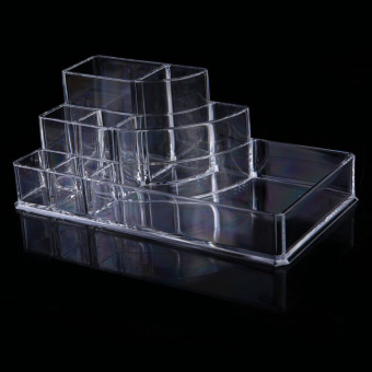 Clear Acrylic Cosmetic Jewelry Makeup Organiser Drawer Box Case Stand No7