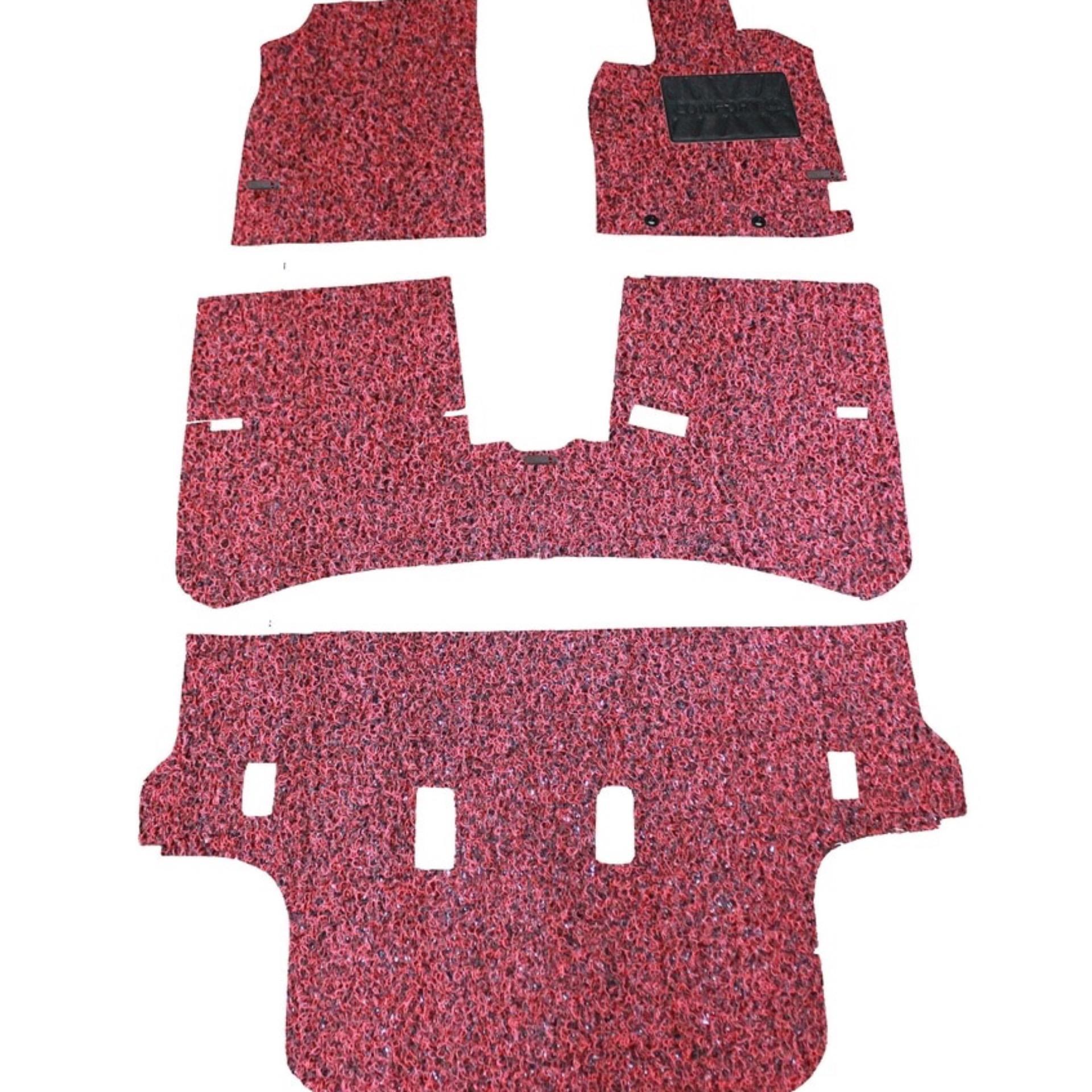 Honda Freed Karpet Mobil Comfort Premium 20mm Car Mat Full Set Suzuki Katana Deluxe 12mm Brv Atau Mobilio Merah Hitam