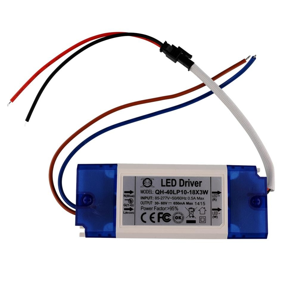 Constant Current Driver Supply For 12-18pcs 3W High Power LED Light AC85-265V