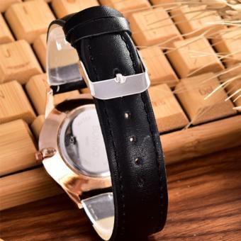 Harga Costielan Bonico JamTangan Pria Body Silver White Dial Black Leather Strap Bonico 3003B SW Black Leather Strap Terbaru klik gambar.