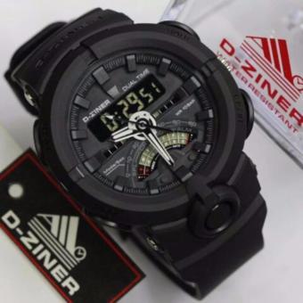 D-ziner DZ8174 Jam Tangan Sport Dual Time