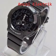 Termurah D Ziner DZ6435 Dual Time Jam Tangan Pria Strap Karet Source · D ziner Jam