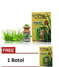 D'One Parfum Mobil / Pengharum Ruangan / Aksesoris Mobil / Parfum Gantung Unik Aroma Morning Grass + Get 1 Free