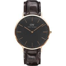 Daniel Wellington Classic York Black Dial 40mm Watch DW00100128