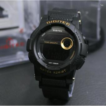 Digitec - Jam Tangan Olahraga Wanita - Sporty Watch - Digital - Waterresist - Rubber -DG 566 AS