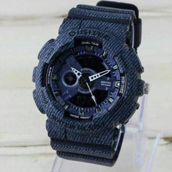 Digitec Limited Edition - Jam Tangan Sport Pria - Strap Rubber - Full Black - DG2080-P