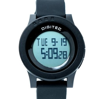 Digitec Men's - DG 3037 HITAM - DIGITAL - STRAP RUBBER