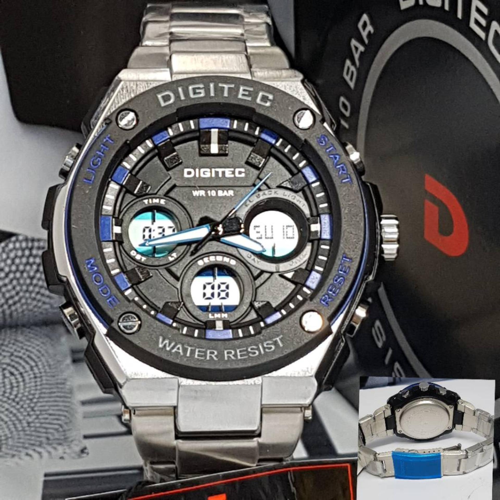 Digitec Rantai Jam Tangan Pria Model Terbaru-DG 3012 AR