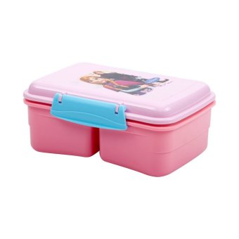 Disney Frozen Lunch Box Anna Pink