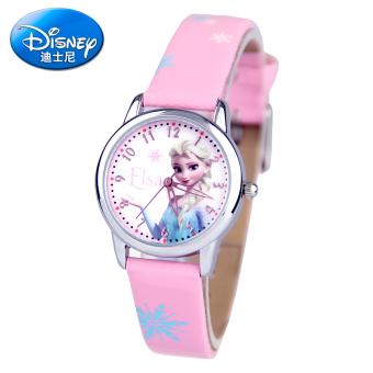 Disney lucu gadis gadis sekolah dasar elektronik Jam anti air jam tangan anak